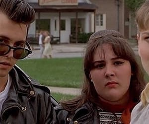 90s, cry baby, and vintage image