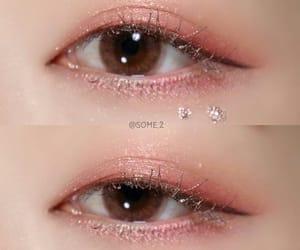 girls, korean, and makeup image