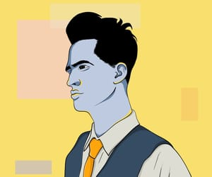 brendon urie, fanart, and panic at the disco image