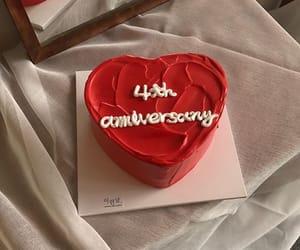 anniversary, berry, and birthday image