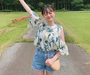 asian, casual, and fashion girl image