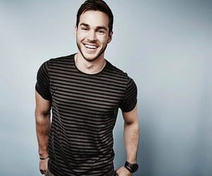 chris wood, the vampire diaries, and boy image