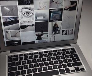 tumblr, grunge, and macbook image
