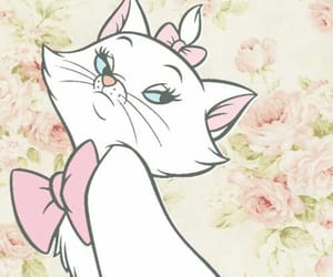 disney, cat, and girl image