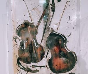 art, music, and violin image