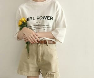 aesthetics, clothes, and flowers image