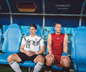 football, game, and germany image