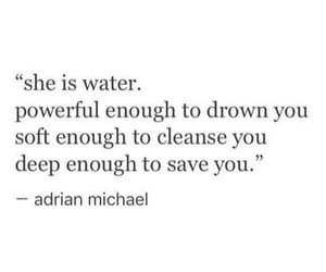quotes, deep, and water image