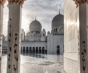 architecture, mosque, and paradise image