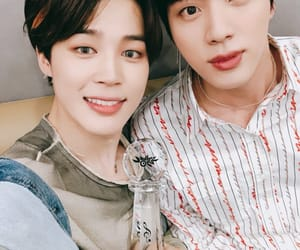 jin, kpop, and park jimin image