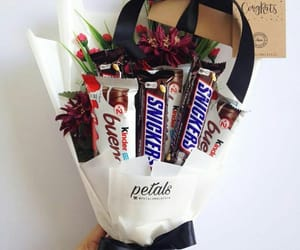 boyfriend, chocolates, and couple image