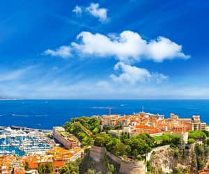 architecture, flowers, and monaco image