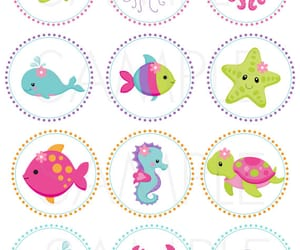 dolphin, fishes, and cute image