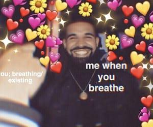 Drake, reaction, and mood image