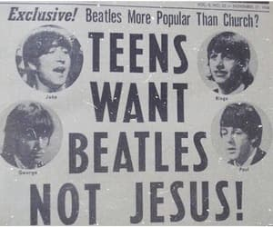 beatles, celebrity, and music image