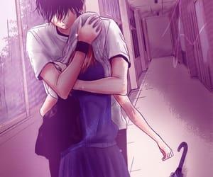 manga, anime, and hug image