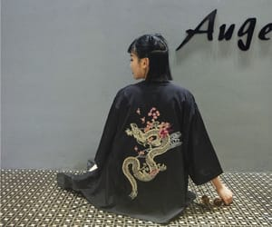 asia, black, and clothes image