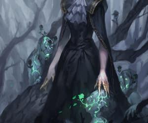 fantasy and necromancer image
