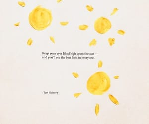 quotes, sun, and light image