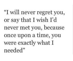 love, quotes, and regret image