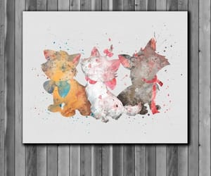 adorable, aristocats, and art image