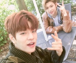 stray kids, felix, and seungmin image