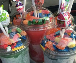 candy, desserts, and drinks image
