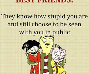 friendship, true, and funny image