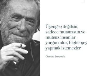 charles bukowski and türkçe sözler image