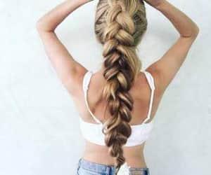 blondie, hair, and braid image