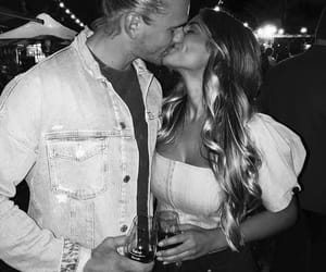 couple, kiss, and girls image