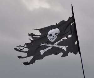 pirate and flag image
