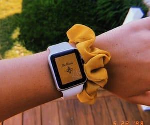 yellow, watch, and aesthetic image