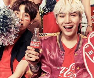 jin, yoongi, and jungkook image