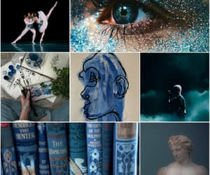 aesthetic, artist, and blue image