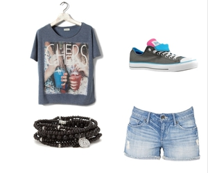 bracelet, clothes, and fashion image