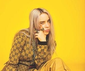 yellow, billie eilish, and aesthetic image