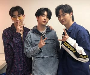 got7, youngjae, and bambam image