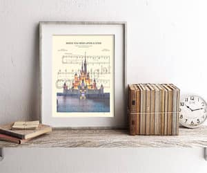 etsy, wish upon a star, and cinderella castle image