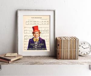 etsy, chocolate factory, and quote art image