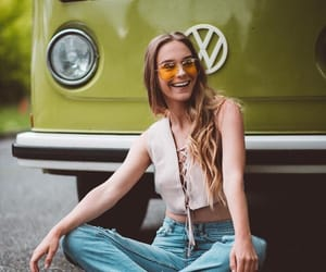 girl and hippie image