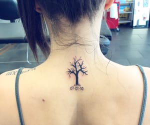 memorial, Tattoos, and girlswithtattoos image