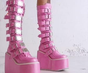 boots, emo, and fashion image