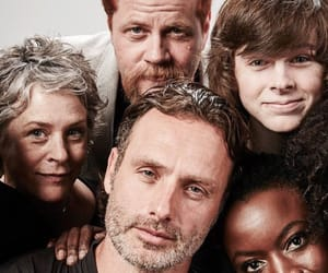 andrew lincoln, twd, and michonne image