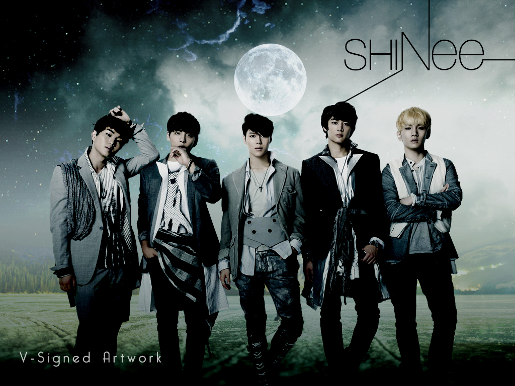 article and SHINee image