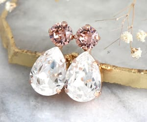 bling, earrings, and etsy image