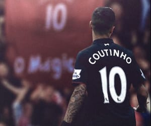 football, Liverpool, and coutinho image