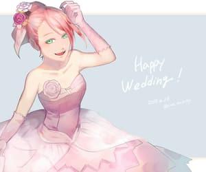 cherry blossom, sakura-chan, and pink image