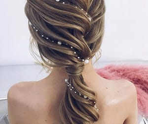 accessory, beauty, and hair image