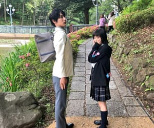 couple, taishi nakagawa, and sugisaki hana image